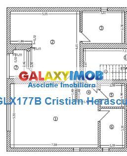 Apartament 2 camere 2 bai 95 mp Biserica Bazilescu