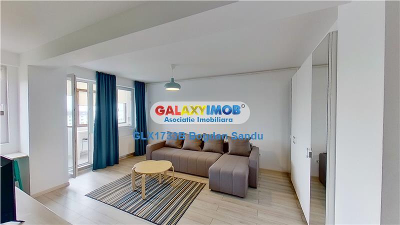 Apartament 2 camere de inchiriat in Militari Residence TUR VIRTUAL