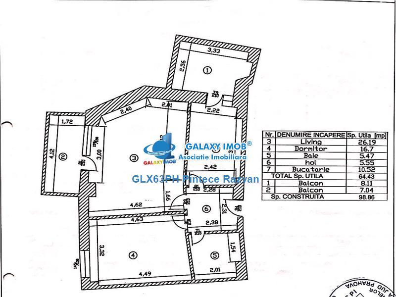 Apartament 2 camere, de lux, ultracentral, Urban Icim, Ploiesti