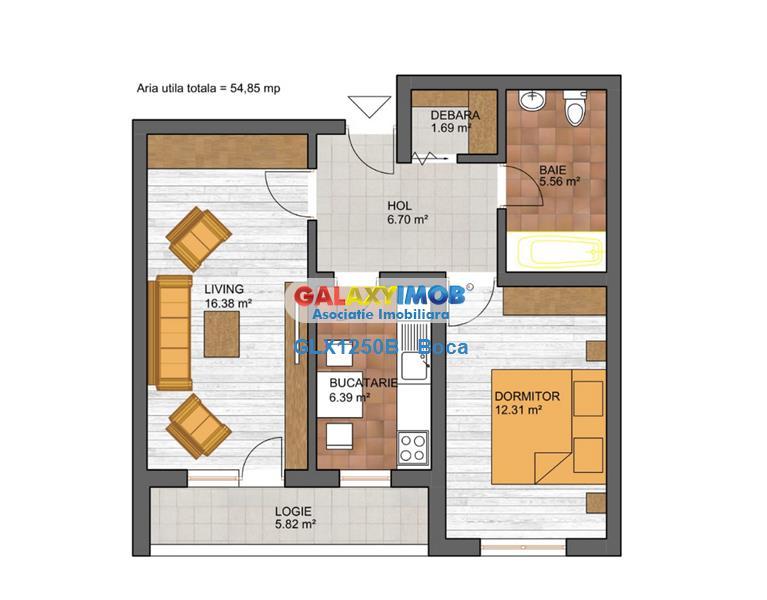 Apartament 2 camere FINALIZAT - METROU
