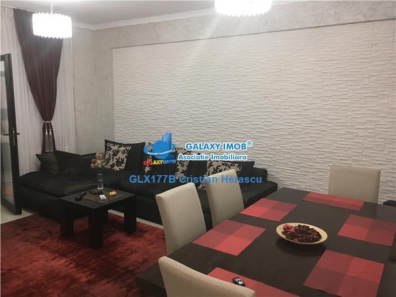 Apartament 4 camere semimobilat + curte 80 mp Biserica Bazilescu