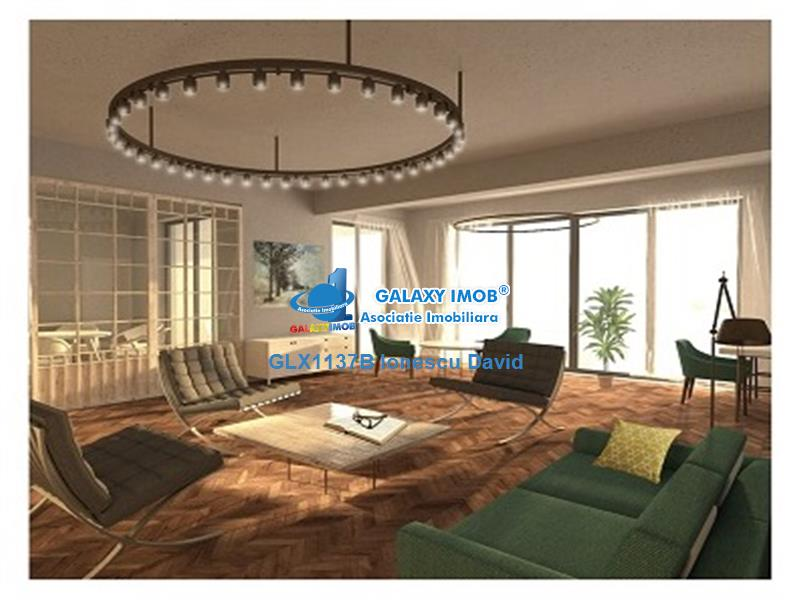 Apartament nou 2 camere, 120 mp utili, terasa 21 mp, ultracentral