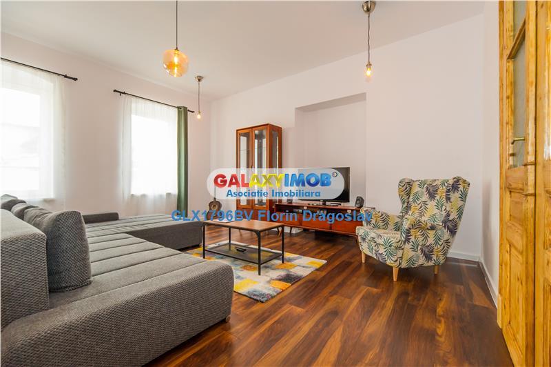 Apartament exclusivist, 115 mp, 2 nivele, 3 camere, in Centrul Vechi