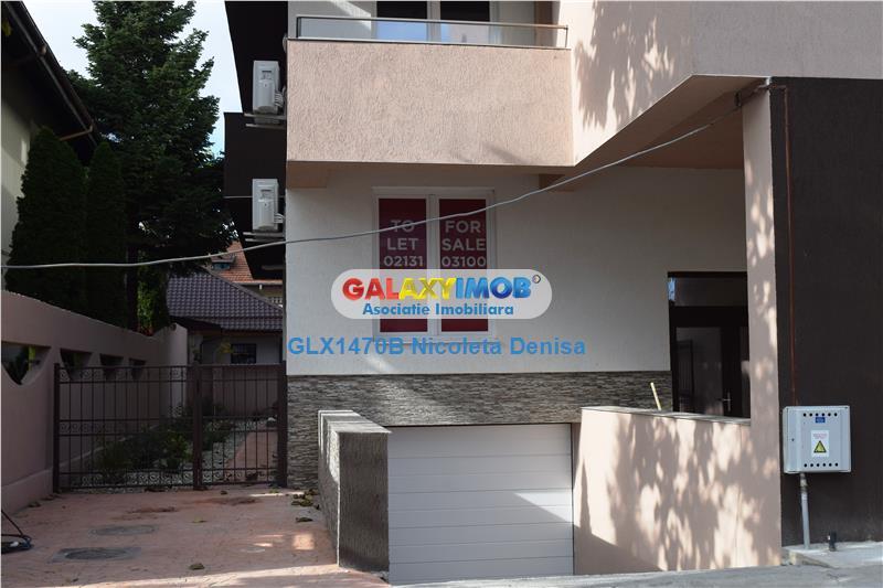 Duplex cu  gradina, terasa si parcare subterana.Firma sau locuinta.