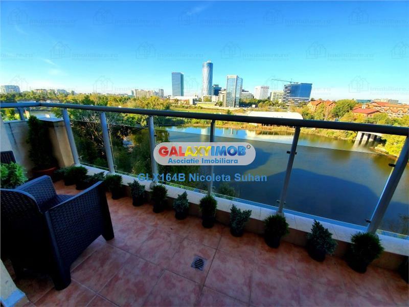 Apartament LUX Floreasca cu Vedere Panoramica la Lac -Parcare Subteran