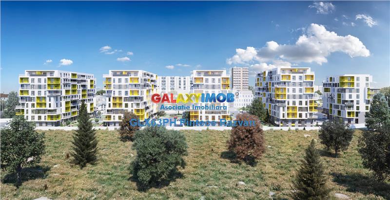 Apartamente in complex modern de la 39900 Euro in zona Nord, Ploiesti