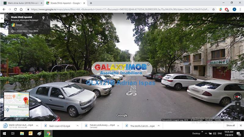 Bd.Unirii-Fantani vanzare spatiu parter bloc