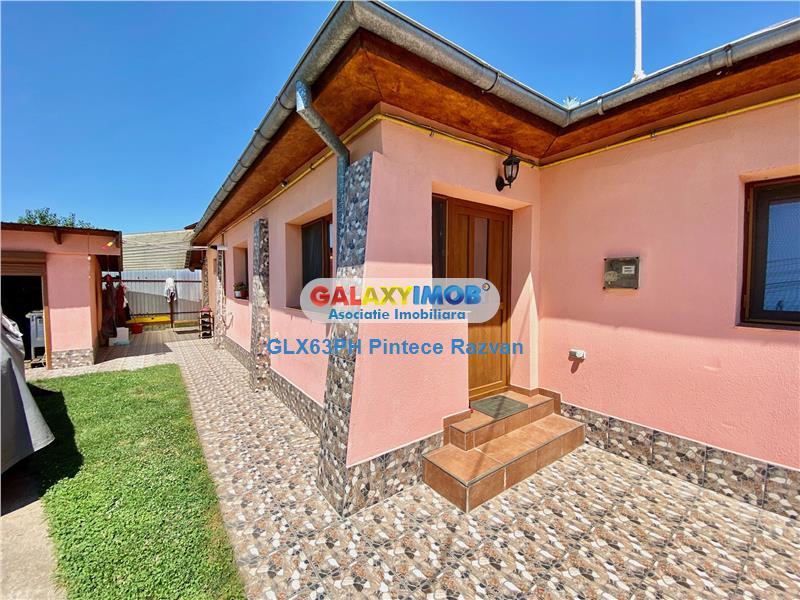 Casa cu 310 mp teren,garaj, la 15 minute de Ploiesti, comuna Brazi