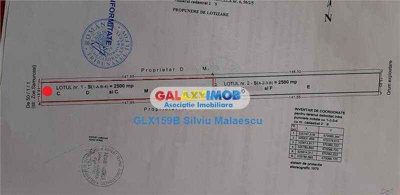 Ciorogarla 2.500 Mp Str. Zoe Samurcasi