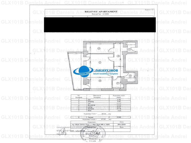 DE VANZARE APARTAMENT 2 CAMERE, IN ZONA SPLAIUL UNIRII, PRET 50.000 E