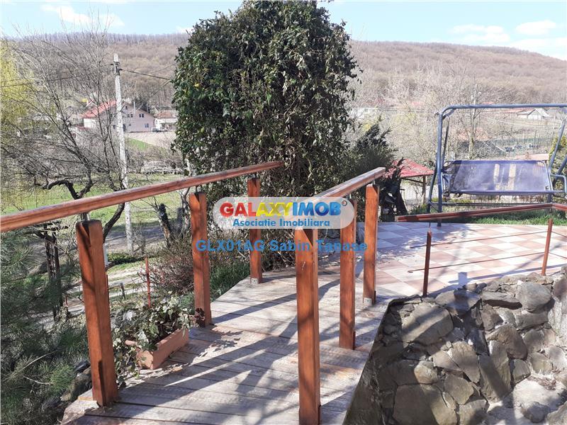 de vanzare vila D+P+E BUDEASA  MICA la liziera padurii teren 2000 mp