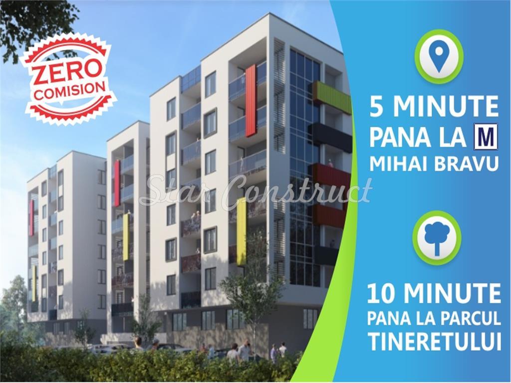 Metrou (5 min) - Apartament 2 cam superb