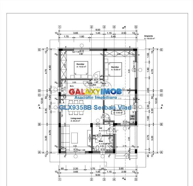 complex 7 case , p+pod, 3 cam 2 bai , 90mp utili, 320mp curte