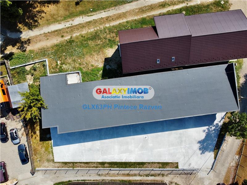 Hala industriala, renovata complet, 280 mp, central Moreni, Dambovita