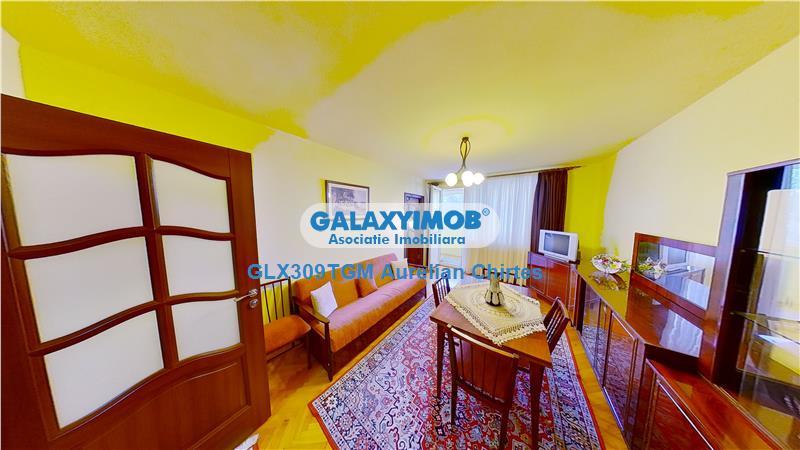 Vand apartament cu 3 camere in Mureseni, Bloc Izolat, partial mobilat