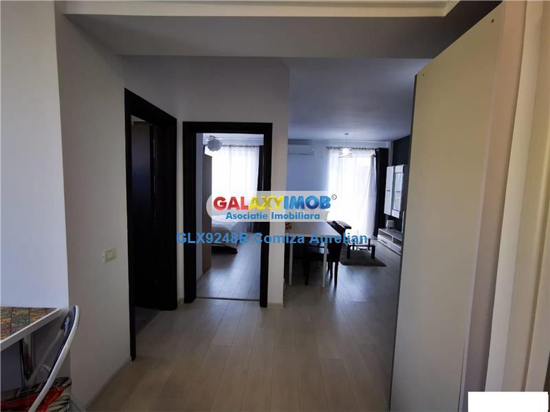 Apartament 2 camere Otopeni bloc 2019/centrala/parcare/AC