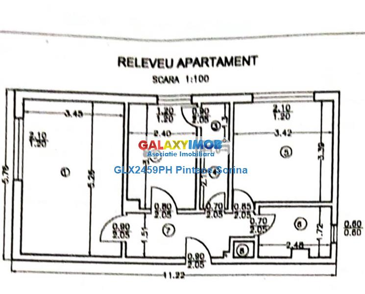 Vanzare apartament 2 camere, decomandat,  Enachita Vacarescu, Ploiesti