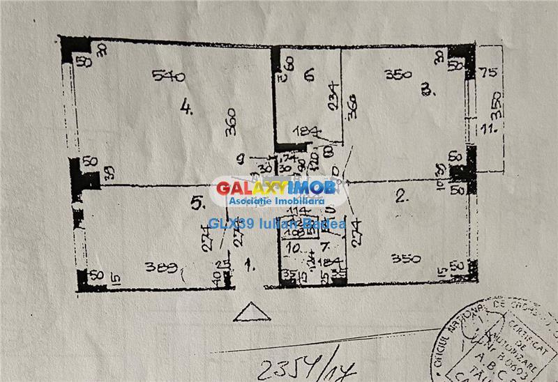 Apartament 3 camere decomandat 4/10  bloc 1986  Vitan Mall