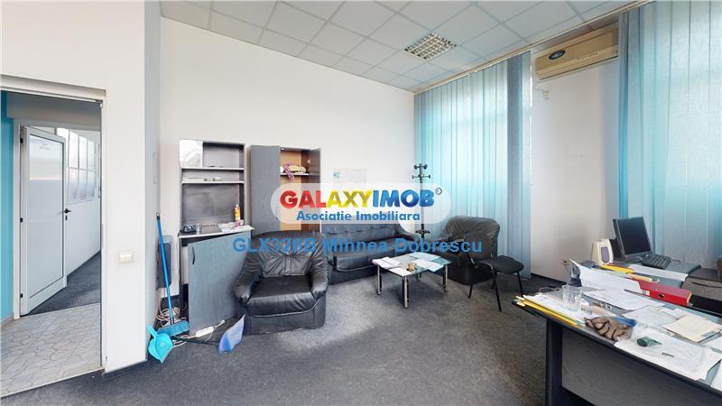 Spatiu industrial cu constructii pentru birou, hale depozitare Medias