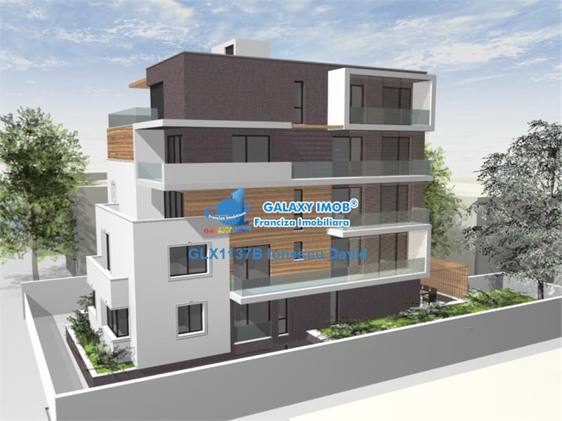 Apartament 4 camere nou, terasa 110mp si parcare, Capitale Dorobanti