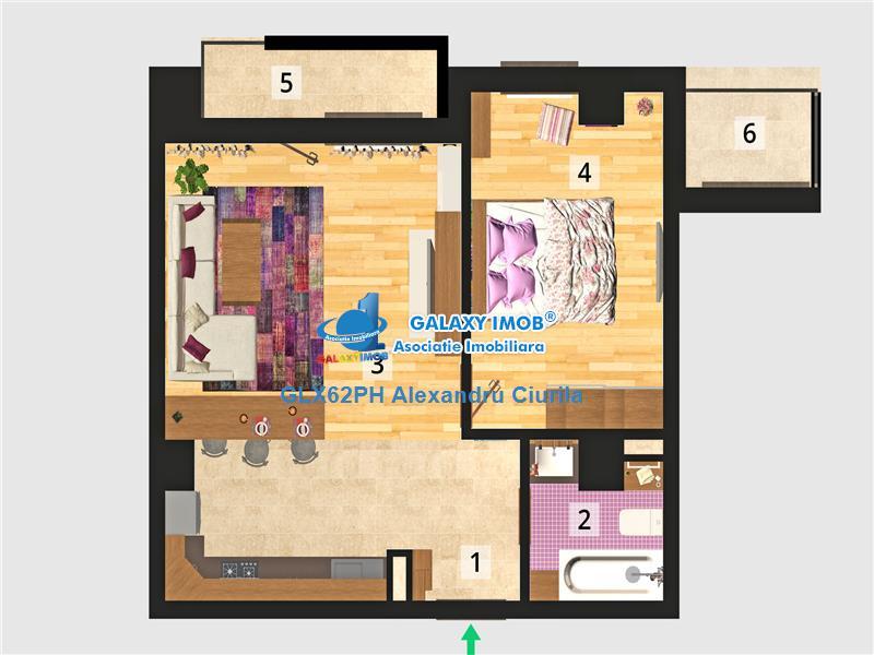 Vanzare apartament 2 camere in bloc nou, Ploiesti, zona centrala