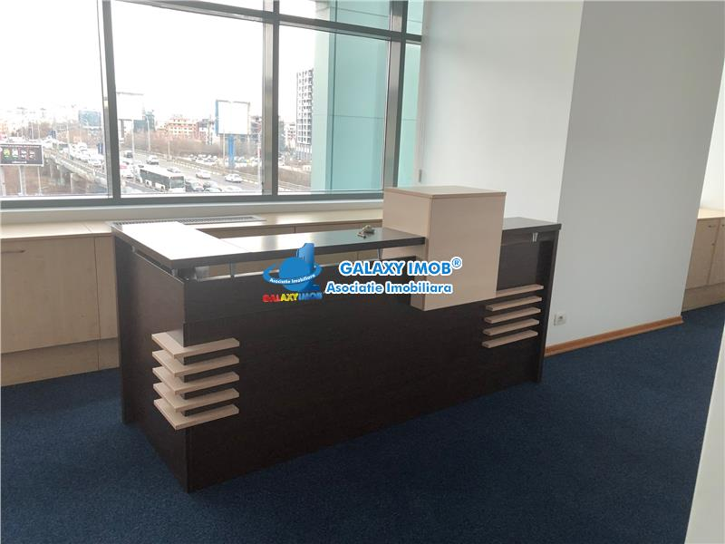 Inchiriere birouri mobilate Aviatiei Baneasa  Elvila Mobilat 9 euro/mp