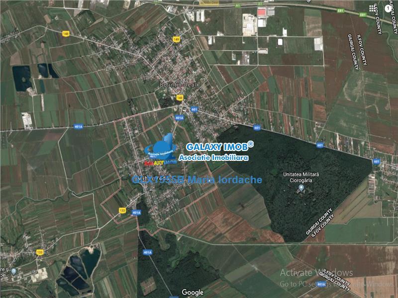 Vanzare TEREN Giurgiu  Sat Mihai Voda 7505 mp