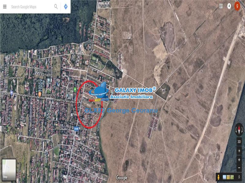 Vanzare teren  pe colt 800 mp, , zona Pipera Iancu Nicolae
