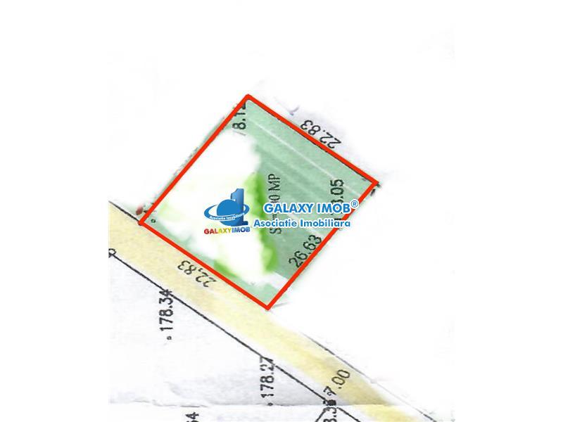 Teren intravilan, 600 mp, utilitati, asfalt, Cartier Albert, Ploiesti