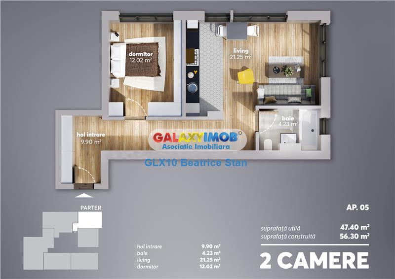 BLOC NOU Comision 0% cumparator/2,3,4 camere PARCUL CAROL/TINERETULUI