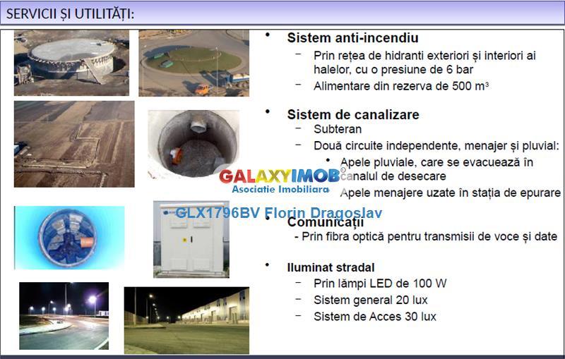 Hala de 2160 mp de vanzare/inchiriere, acces TIR fara restrictii!