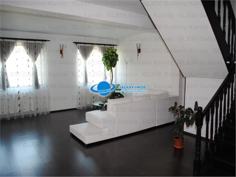 Vila de inchiriat in Bucov, cartier rezidential, 4 km de  AFI Palace