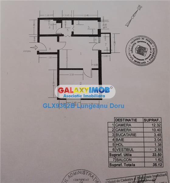 Vanzare Apartament 2 Camere Calea Rahovei - str. Pricopan