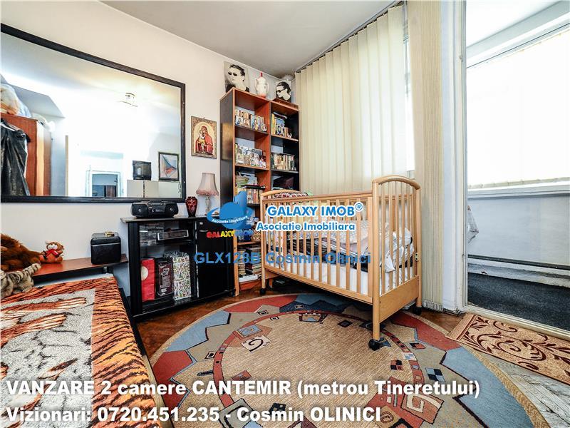 Tur virtual ! VANZARE 2 camere CANTEMIR, stradal, metrou Tineretului