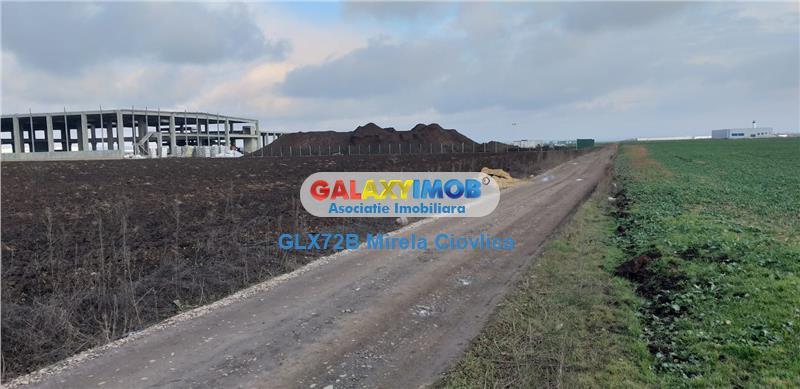 Vanzare teren DN 72 Parcul Industrial Ploiesti