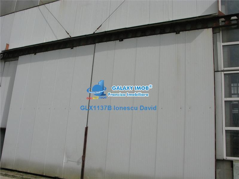 Vanzare 3 hale industriale 5632 mp, Chitila Bucuresti Vest Centura