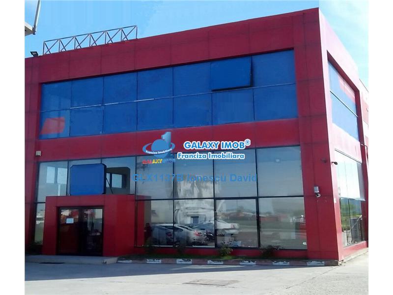 Hala industriala 2340 mp, teren 7500 mp, centura vest Bucuresti A1