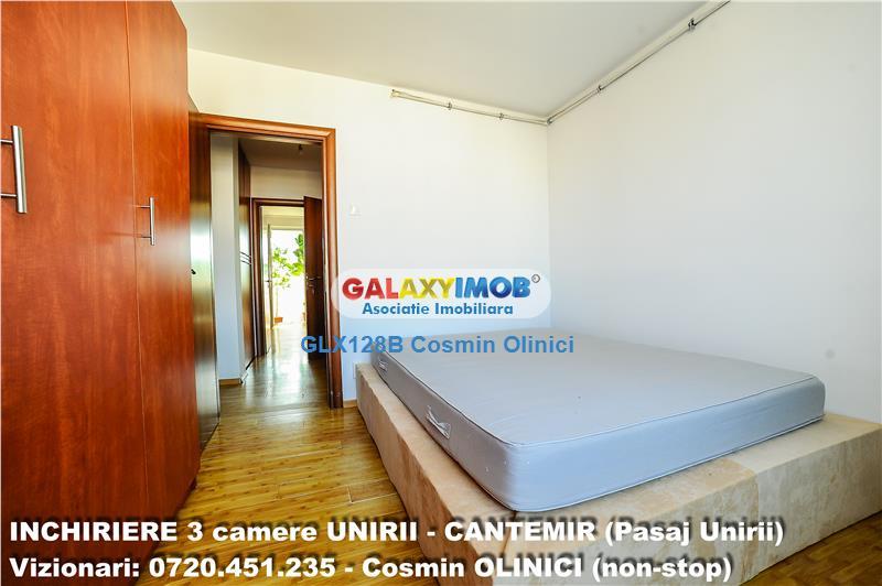 INCHIRIERE 3 camere CANTEMIR-UNIRII, metrou UNIRII, pasaj