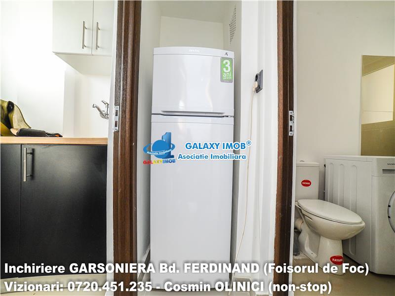 Inchiriere GARSONIERA Bd Ferdinand, 10 minute metrou Iancului