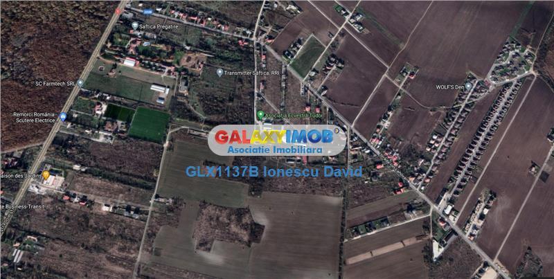 Ocazie investitie Teren de vanzare Saftica 1.5km de DN1, 3 loturi