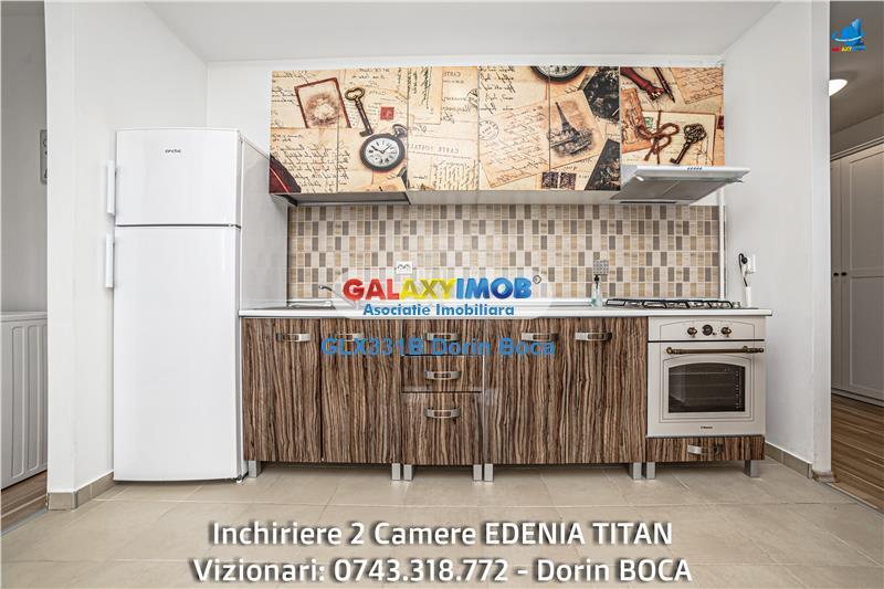Apartament 2 camere TITAN (Edenia Titan) - Bloc nou