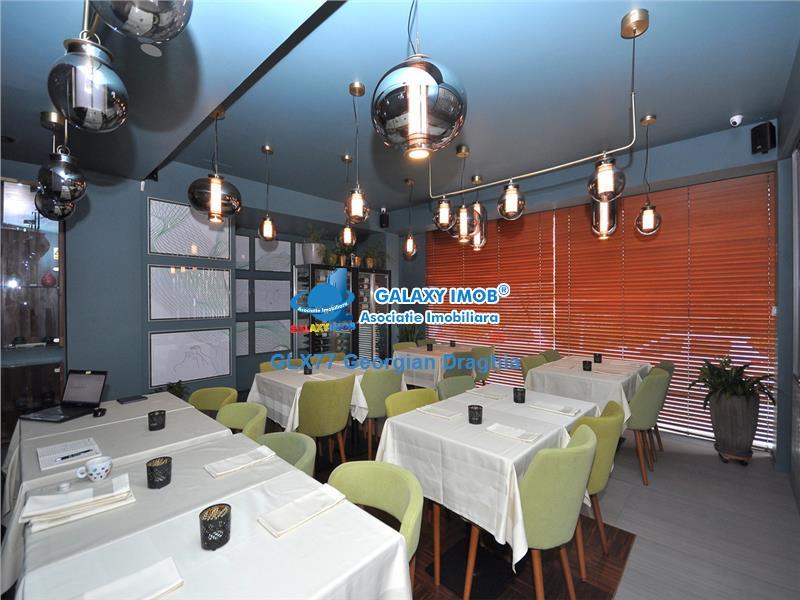 Floreasca vanzare Restaurant utilat si mobilat complet
