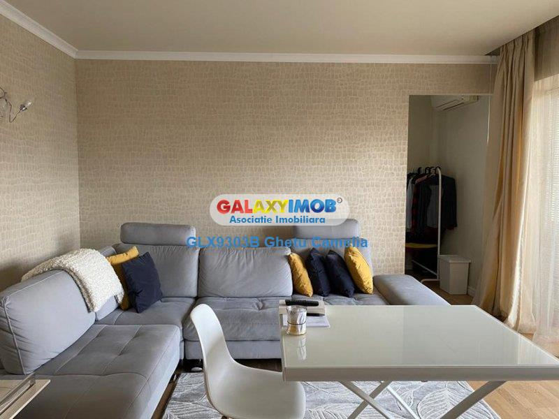 3 camere LUX InCity, terasa, mobilat Rovere, parcare, 3 dressing-uri
