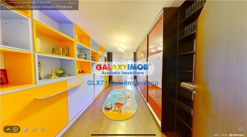 Inchiriere apartament 3 camere Lux Prel Ghencea Primavara