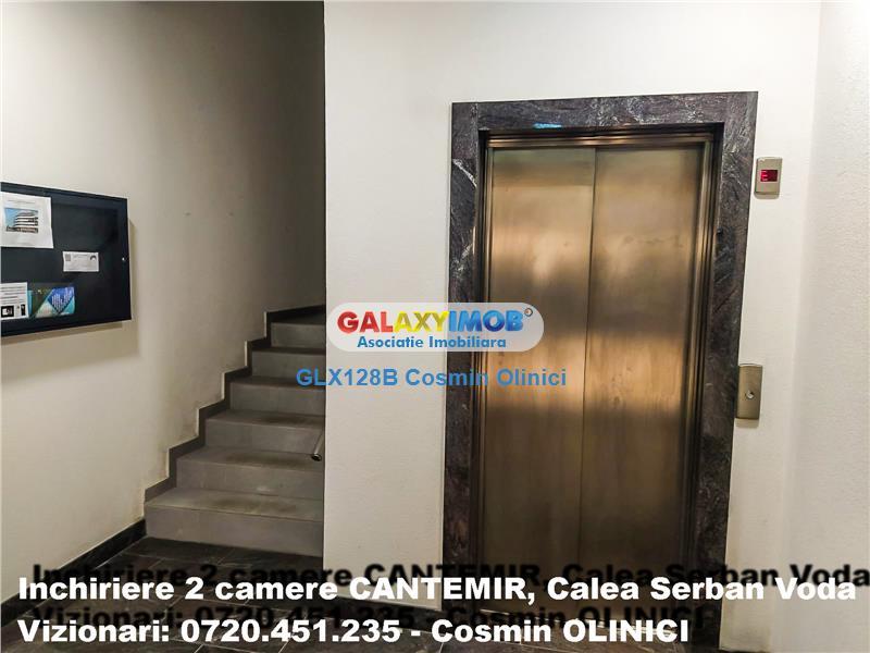 Inchiriere 2 camere CANTEMIR bloc nou, prima inchiriere, metrou