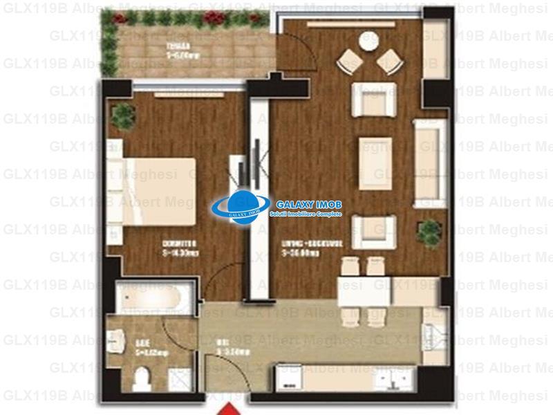 Inchiriere Apartament 2 Camere Metrou Iancului Lux