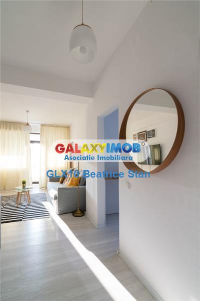 Inchiriere apartament 3 camere elegant bloculet nou Parcul Bazilescu