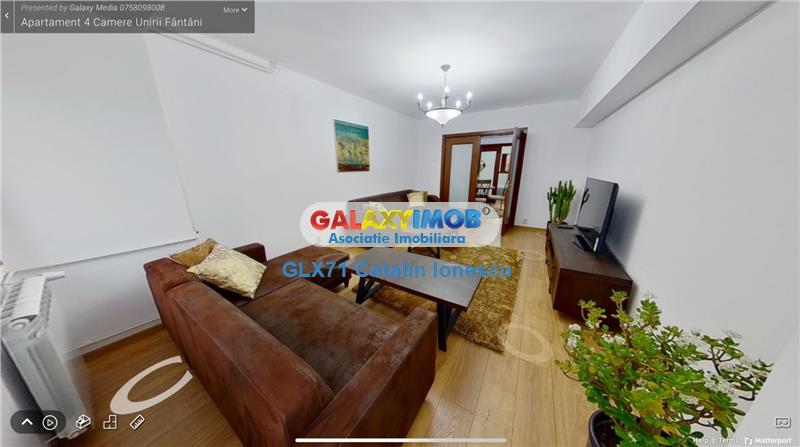 Inchiriere apartament 4 camere LUX Unirii Fantani