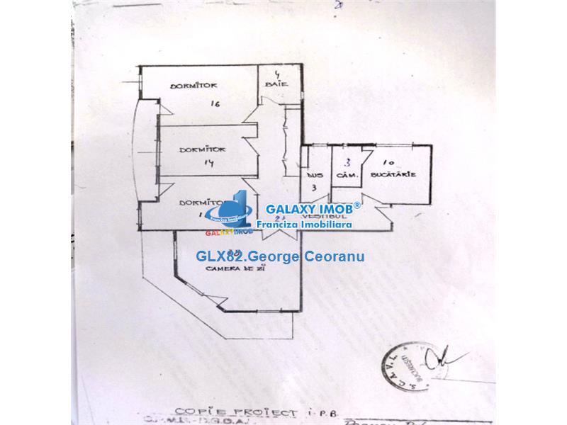Inchiriere apartament 4 camere ultracentral Unirii Horoscop