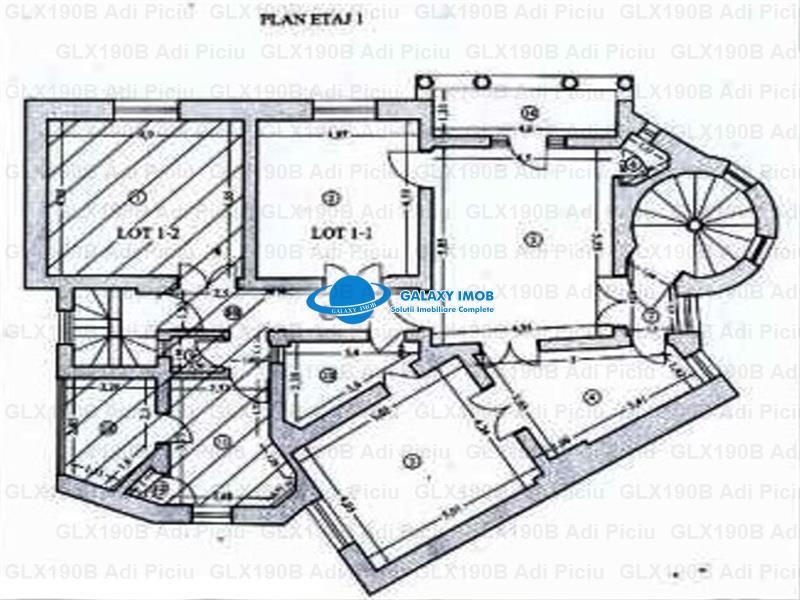 Inchiriere apartament 5 camere in vila reprezentativa COTROCENI